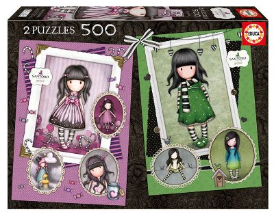 PUZZLE 2X500 SUGAR AND SPICE + THE SCARF 17687