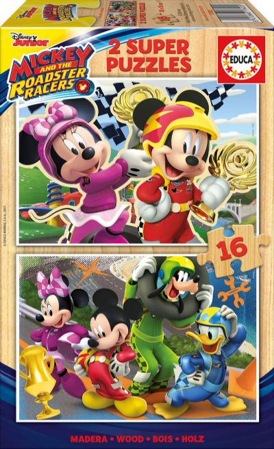 PUZZLE 2X16 MICKEY Y LOS SUPERPILOTOS 17622
