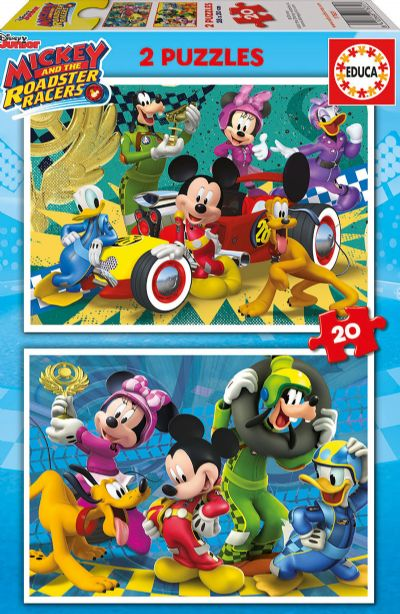 PUZZLE 2X20 MICKEY Y LOS SUPERPILOTOS 17631