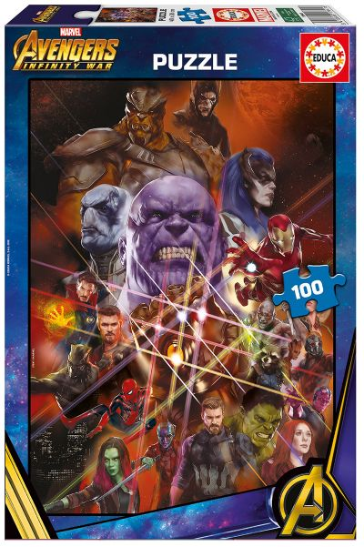 PUZZLE 100 AVENGERS: INFINITY WAR 17641