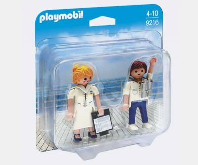 PLAYMOBIL DUO PACK CRUCERO 9216
