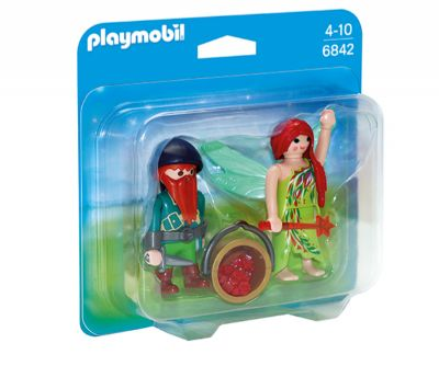 PLAYMOBIL DUO PACK HADA Y ELFO 6842