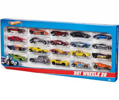 HOT WHEELS PACK 20 VEHICLOS