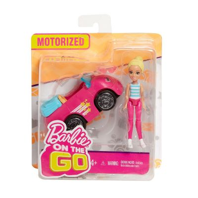 Barbie On The Go Rubia