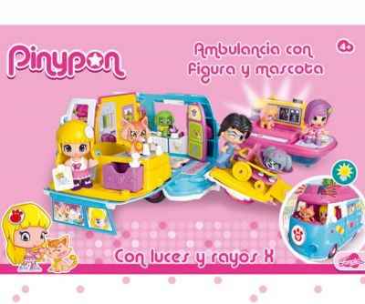PINYPON AMBULANCIA DE MASCOTAS