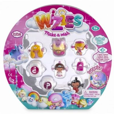 WIZIES PACK 8 FIGURAS