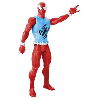 SPIDERMAN WEB WARRIORS FIGURA 30 CM AZUL