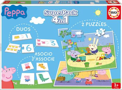 EDUCA® SUPERPACK PEPPA PIG 16229