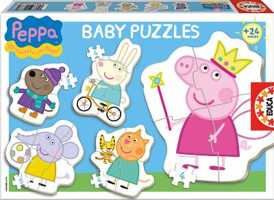BABY PUZZLES PEPPA PIG 15622