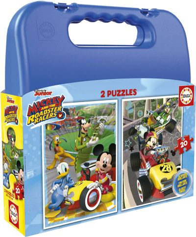 MALETA 2x20 MICKEY & THE ROADSTER RACERS  17639