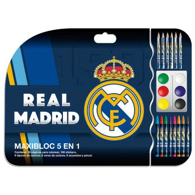 Maxibloc Real Madrid