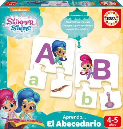 APRENDO EL ABECEDARIO SHIMMER AND SHINE 17710