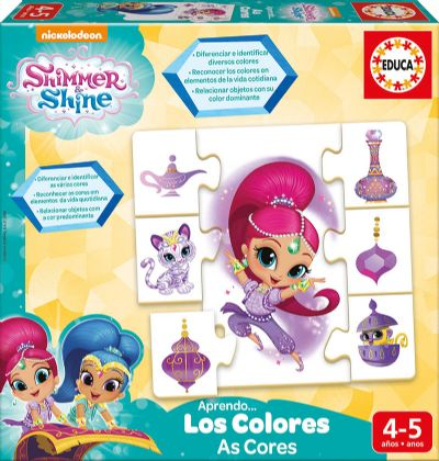 APRENDO LOS COLORES SHIMMER AND SHINE 17712