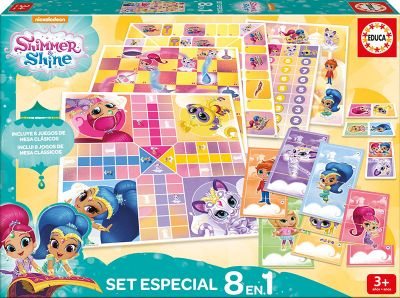 EDUCA SET ESPECIAL 8 EN 1 SHIMMER AND SHINE 17718