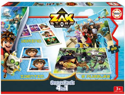 EDUCA® SUPERPACK ZAK STORM 17715