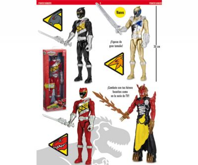 POWER RANGERS FIGURA ACCION