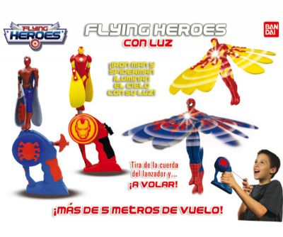 FLYING HEROES CON LUZ