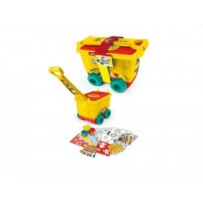 PLAY-DOH TROLLEY CREATIVO CON SET CREATIVO 30 PIEZAS