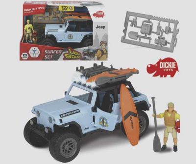 PLAYLIFE SET SURFER JEEP M