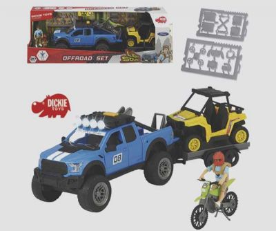 PLAYLIFE SET TODOTERRENO FORD RAPTOR XL