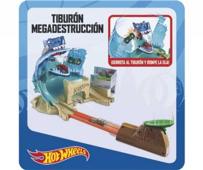 HOT WHEELS TIBURON MEGADESTRUCCION