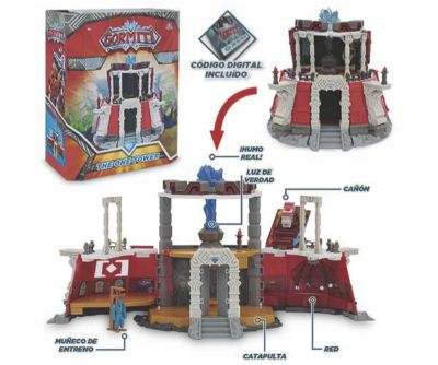 GORMITI PLAYSET TORRE LUZ/SONIDOS/HUMO + 1 FIG EXCLUSIVA
