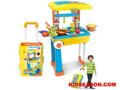 LITTLE CHEF SET TROLLEY