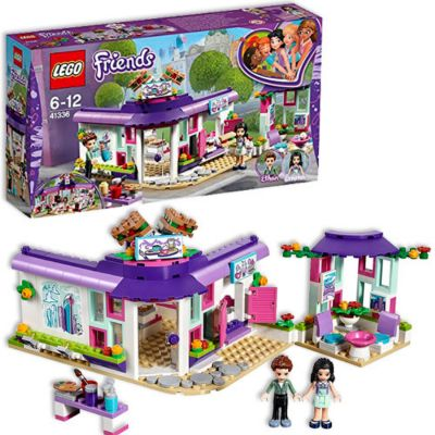LEGO FRIENDS CAFE DEL ARTE DE EMMA 41336