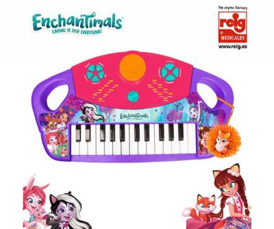 ENCHANTIMALS ORGANO ELECTRONICO 24 TECLAS