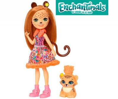 ENCHANTIMALS CHERIS CHEETAH