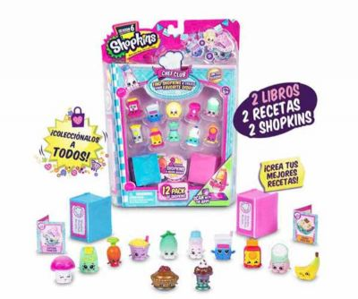 SHOPKINS  BLISTER 12  FIGURAS