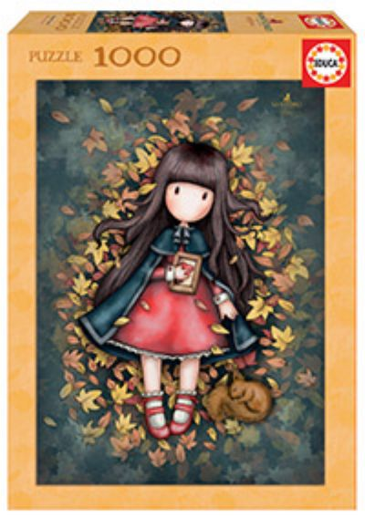 PUZZLE 1000 - AUTUMM LEAVES, GORJUSS - 17114