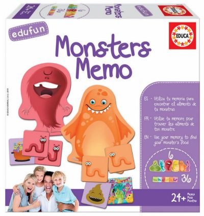 JUEGO MONSTERS MEMO