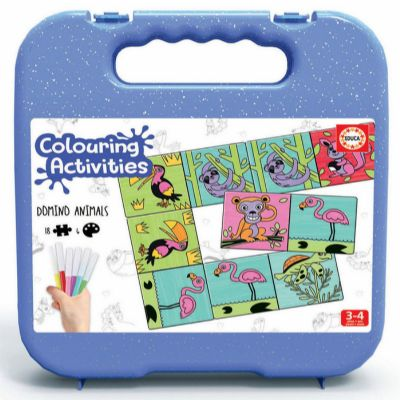 JUEGO DOMINO COLOURING ACTIVITIES 18071