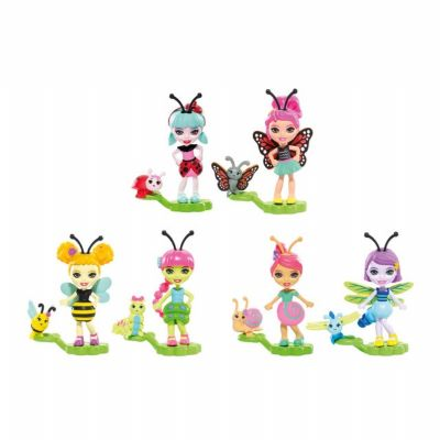 MUÑECA ENCHANTIMALS BICHIAMIGAS MATTEL (Abeja)