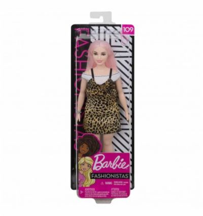BARBIE FASHIONISTA ANIMAL PRINT