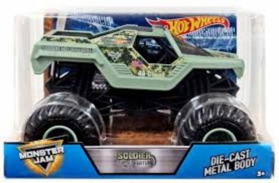 Hot Wheels Monster Jam Soldier Fortune