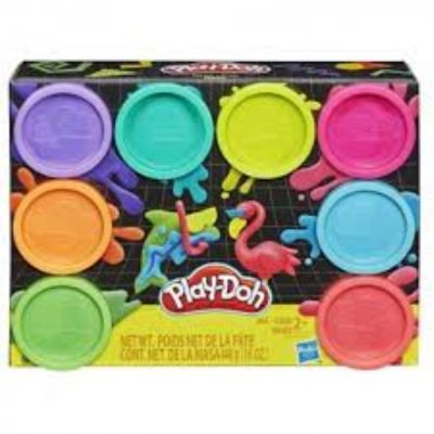 PLAY DOH PACK 8 BOTES