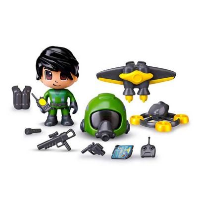 Figura Pinypon Action Jet Pack