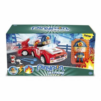 PINYPON ACTION BOMBERO VEHICULO DE ACCION
