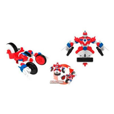 FIGURA PEONZA TRANSFORMABLE SPIN RACERS - BLAZING