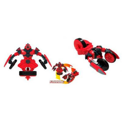 FIGURA PEONZA TRANSFORMABLE SPIN RACERS - FLAMMING