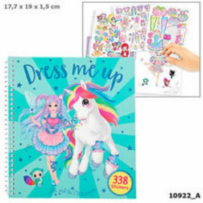 Yivi & The Minimoomis Dress Me Up Sticker Book