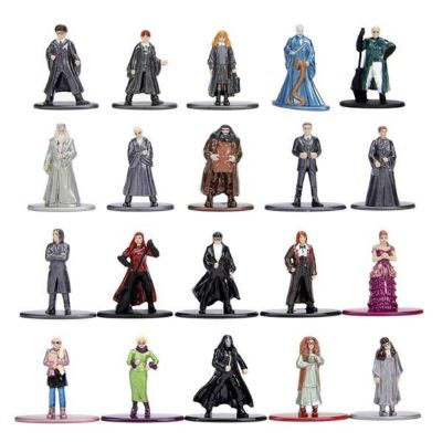FIGURAS DE METAL HARRY POTTER