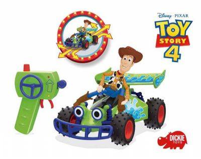 COCHE RADIO CONTROL BUGGY TOY STORY WOODY