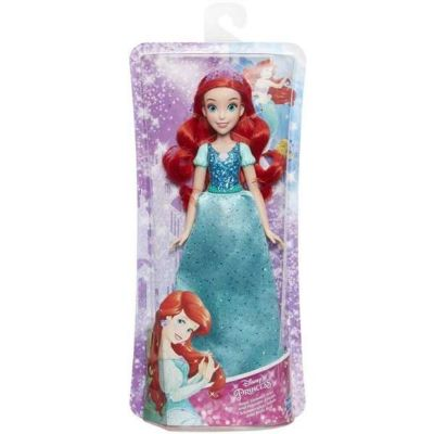MUÑECA PRINCESA BRILLO REAL ARIEL 27-4020e