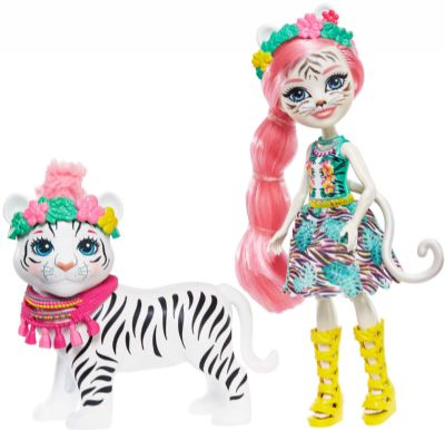 Muñeca Enchantimals Tigre Blanco 21-57GFN