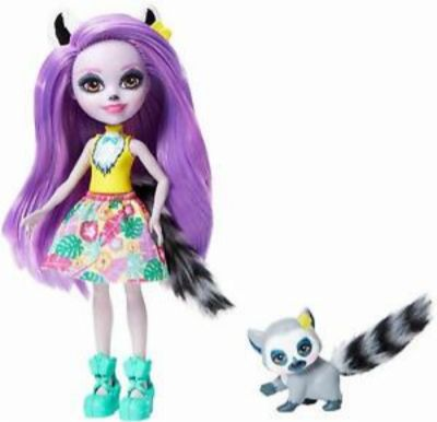 Muñeca Enchantimals Lemur 21-44GFN