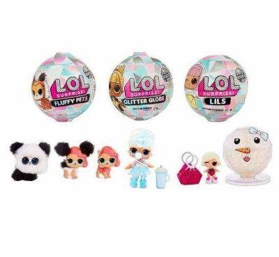 BOLA LOL SURPRISE GLITTER GLOBE WINTER