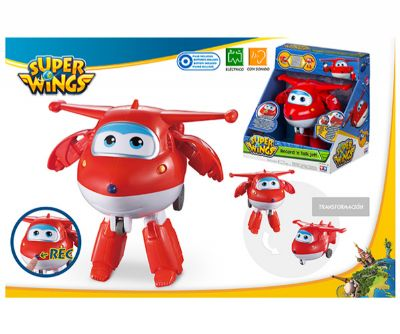 SUPER WINGS FIGURA JETT TRANSFORMABLE